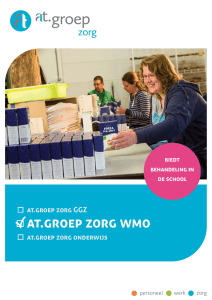 flyer at.groep Zorg WMO