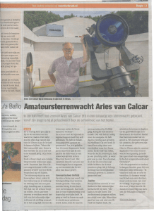 Ja BaflQ Amateursterrenwacht Aries van Calcar