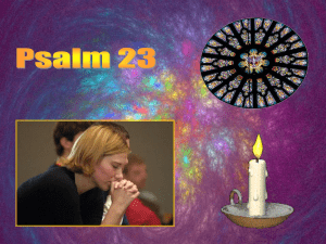 Psalm 23 - holyhome.nl
