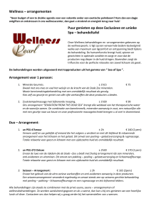 wellness-arrangementen