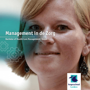 Management in de Zorg