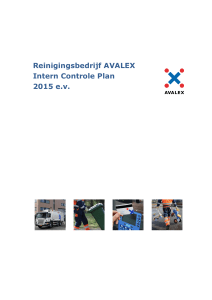 Intern controleplan Avalex