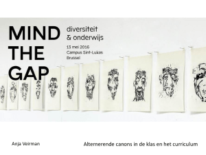 PowerPoint-presentatie - Luca | School of Arts