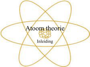 Atoom theorie