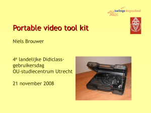 Instant video feedback, demonstratie en achtergronden