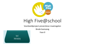High Five@school
