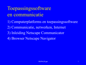 Computerplatform: software