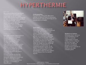 Hyperthermie - WordPress.com