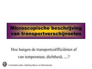 No Slide Title - Universiteit Leiden