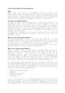 HSMR WLZ – toelichting website WLZ