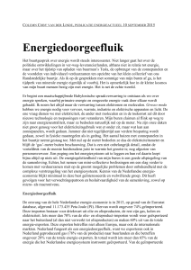 Energiedoorgeefluik - Clingendael International Energy Programme