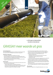 Gras - Dutch Biorefinery Cluster