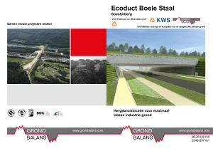 Ecoduct Boele Staal