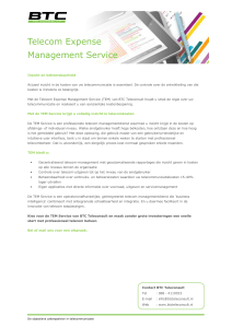 Telecom Expense Management Service
