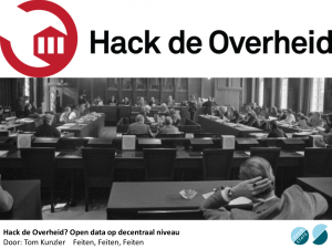 Tom Kunzler: Hack de Overheid