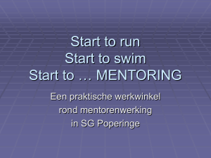 Werkmap Sessie10 Start to run