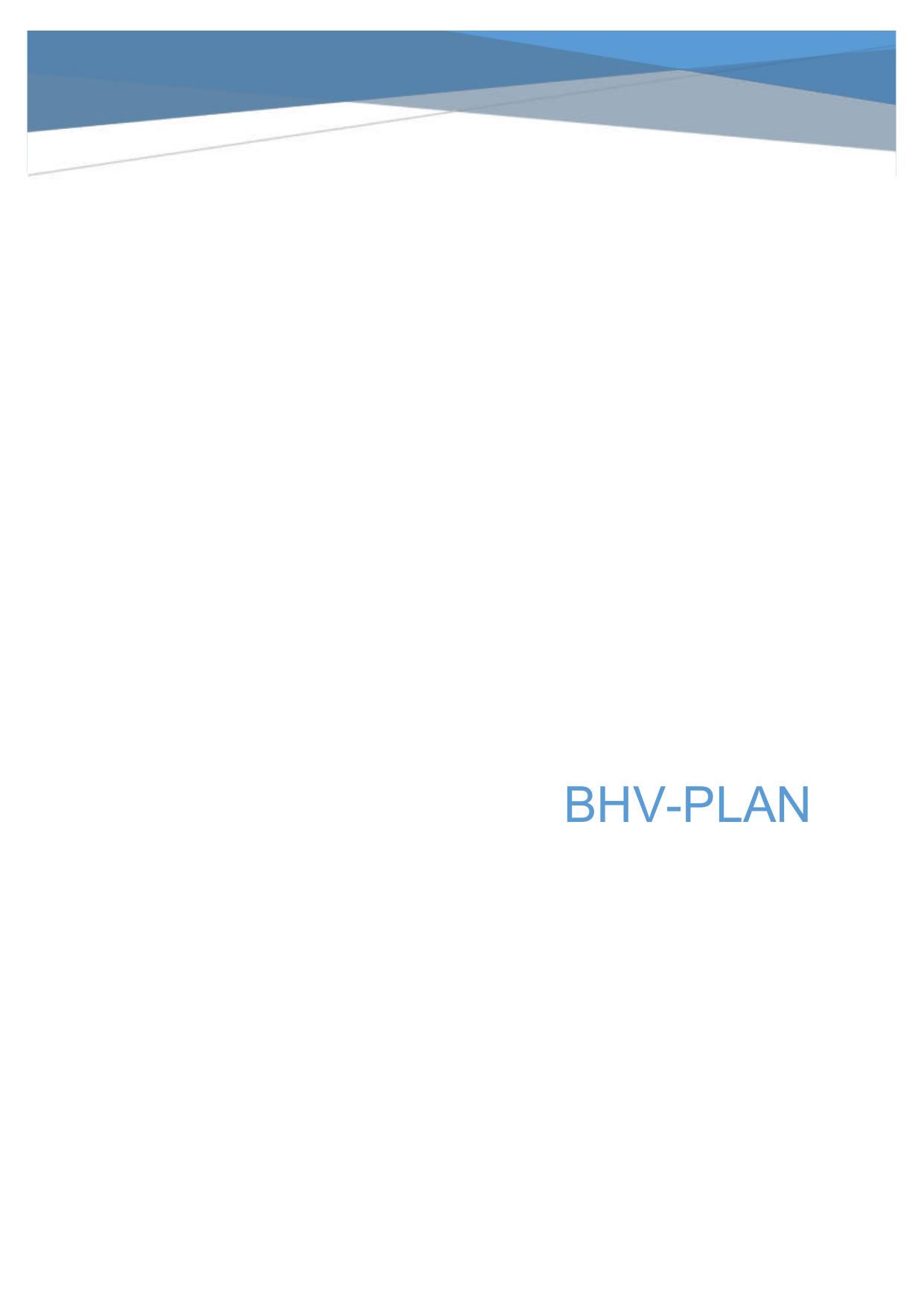 Bhv Plan Nvb Bhv