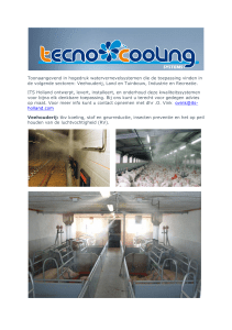 Tecnocooling products