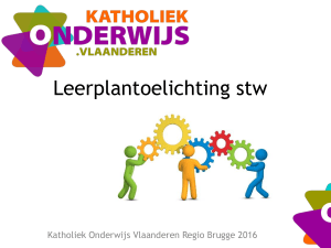 Leerplantoelichting stw