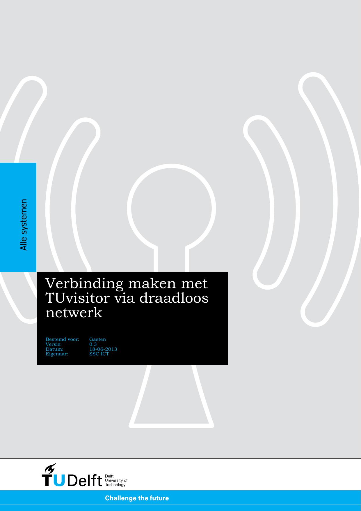 Verbinding Maken Met Tuvisitor Via Draadloos Netwerk