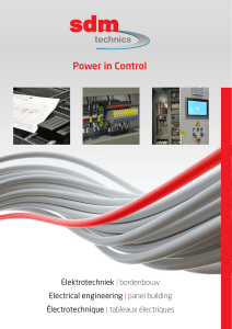 Power in Control - SDM