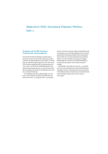Addendum NHG-Standaard Diabetes Mellitus type 2