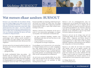 Stichting BURNOUT