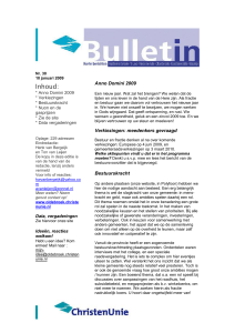 pol bulletin 30 - 10 januari 2009[1]