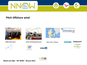 Offshore wind - Waddenzeehavens