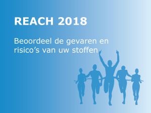 Information Requirements REACH 2018 - ECHA
