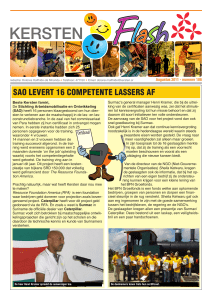 sao levert 16 competente lassers af