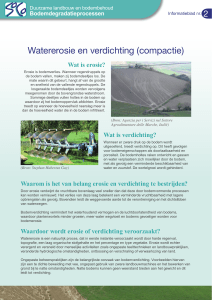 Watererosie en verdichting (compactie) - agrilife