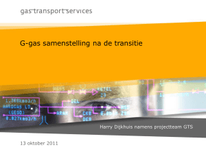 Transitie G-gas samenstelling 20111013