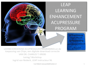 LEAP - Touch for Health Nederland