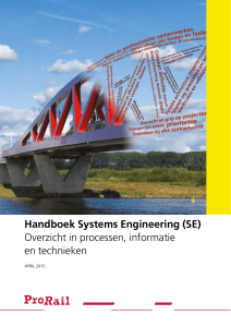 Handboek Systems Engineering (SE) Overzicht in processen