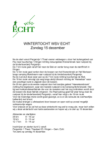 WINTERTOCHT WSV ECHT Zondag 15 december Na de start