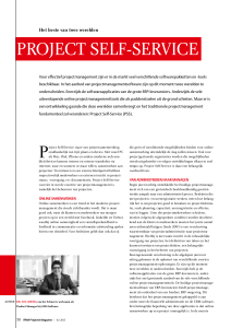 ProJECT sELF-sErvICE