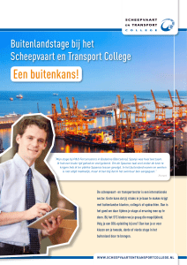 info leaflet internationale stage - STC