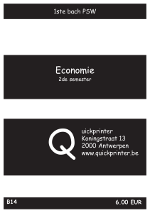 Economie - Quickprinter