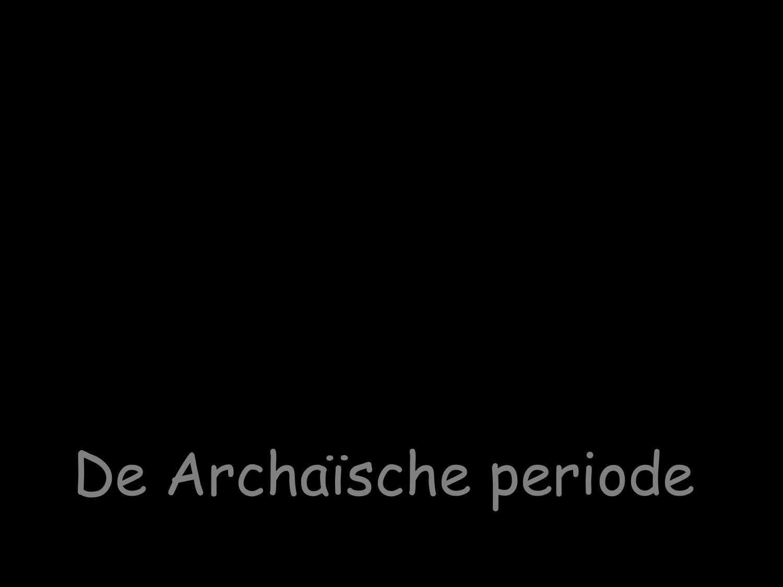 archaische periode beeldhouwkunst