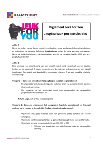 Titel document - JeukForYou.be