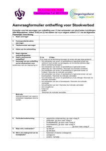 Procedure bij certificering van