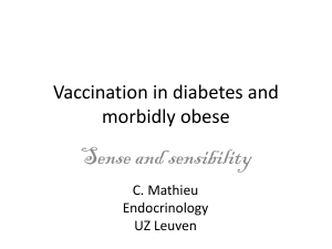 Effectivity of influenza vaccination in diabetes?