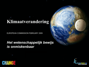 Klimaatverandering - European Commission