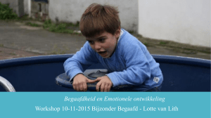 Workshop Begaafdheid en Emotionele Ontwikkeling