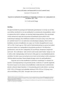 Paper for the International Workshop
