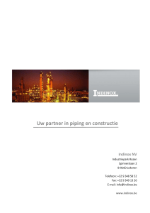 Uw partner in piping en constructie