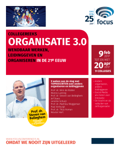 organisatie 3.0 - Focus Conferences