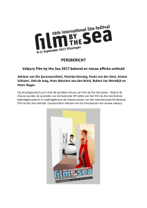 persbericht - Film by the Sea