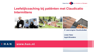Leefstijlcoaching ClaudicatioNet